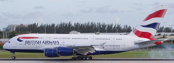 Airbus A380-800 British Airways G-XLEL  04353