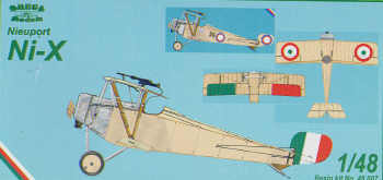 Nieuport NiX (Italian, Russian markings)  48007
