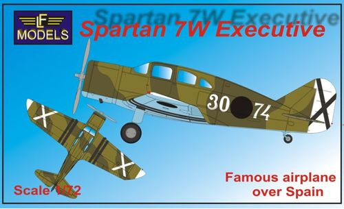 Spartan 7W Executive (Spanish Nationalists)  72105