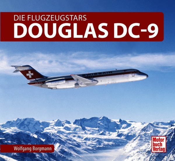 Douglas DC-9 Die Flugzeugstars (expected May 2018)  9783613040397
