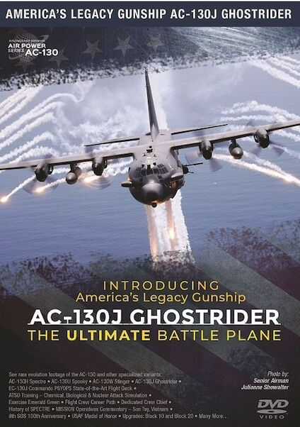 Introducing America's Legacy Gunship AC-130J Ghostrider: The ultimate battle plane  0096962101503