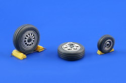 F16 Late wheels (Tamiya)  e648-007