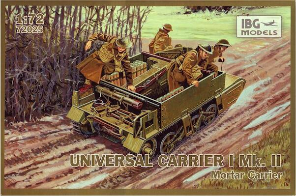 Univeral Carrier II Mortar carrier  72025