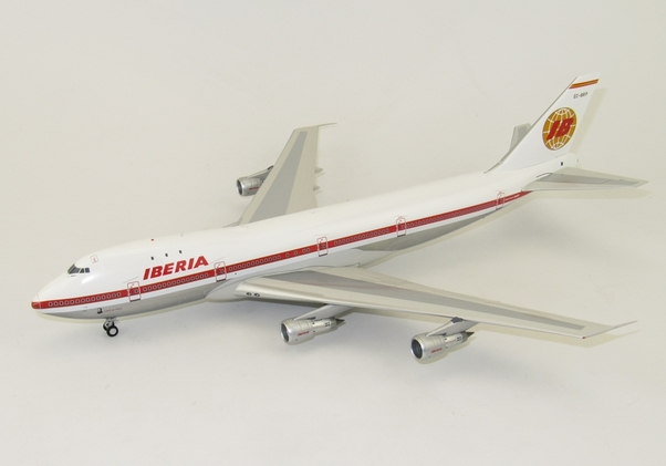 B747-100 (Iberia) EC-BRP Polished With Stand  IF7410516P
