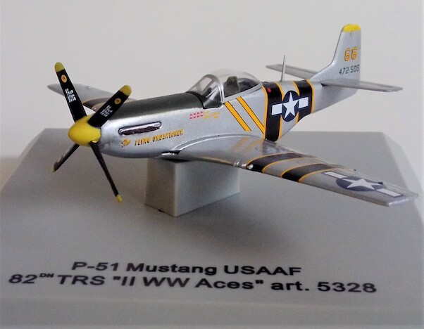 P-51 Mustang USAAF 82nd TRS WW2 Aces 472505/66  5328