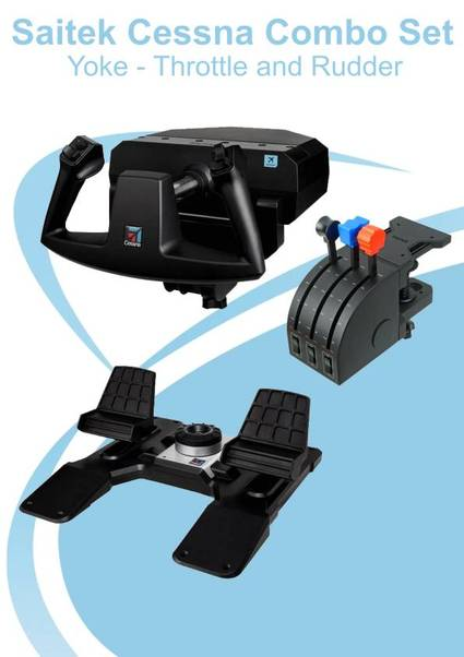 saitek pro flight yoke system software