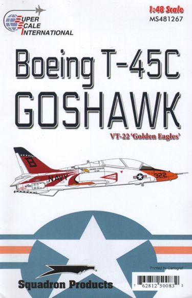 48-1267 Boeing T45C Goshawk (VT22 Golden Eagles)  48-1267