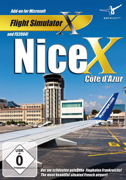 Nice X Cote d'Azur (download version FS2004, FSX) (Aerosoft 4015918120159-D)