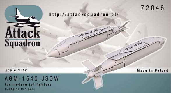 AGM-154C JSOW  Glide Bombs (2x)  AS72046
