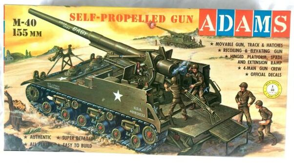 M40 155mm Self Propelled gun  K151:169
