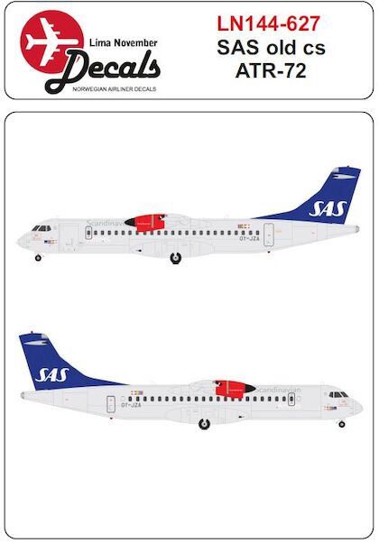 ATR72 (SAS old colours)  LN144-627