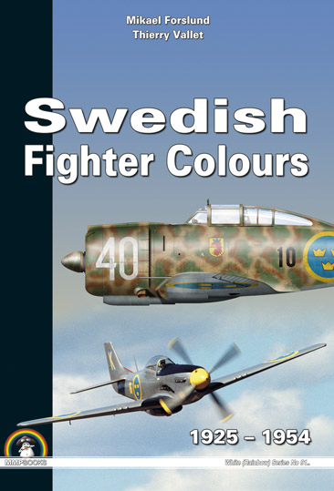 Swedish Fighter Colours 1925-1954  9788361421726