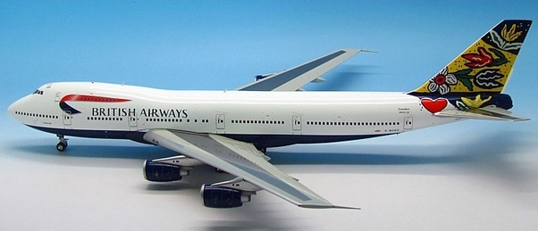 B747-200 (British Airways