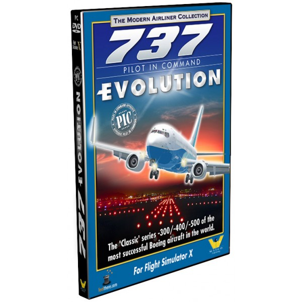 Boeing 737 Pilot in Command Evolution (download version) (Wilco  0649875001325-D)
