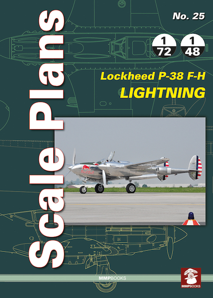 Scale Plans: Lockheed P38F-H Lightning  9788363678876