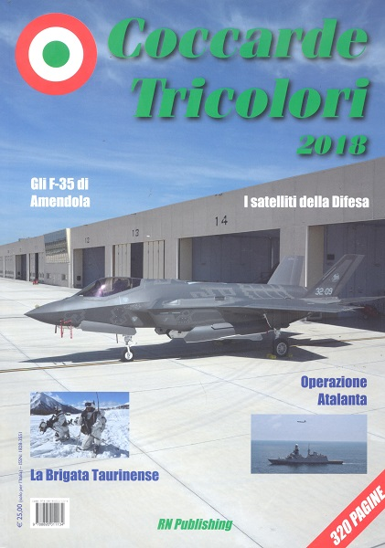 Coccarde Tricolori 2018, Yearbook of the Italian Military Forces  9788895011134