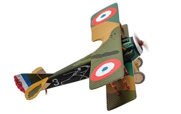 Spad XIII 'White 3', Pierre Marinovitch, Escadrille Spa 94 'The Reapers', Youngest French Air Ace of WWI  AA37909