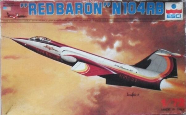 Red Baron N104RB F104 Starfighter  409037