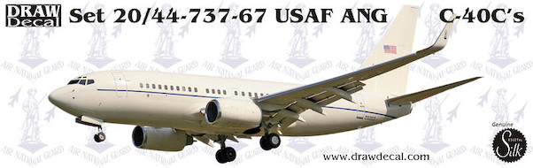 Boeing C40C (USAF-ANG)  44-737-67