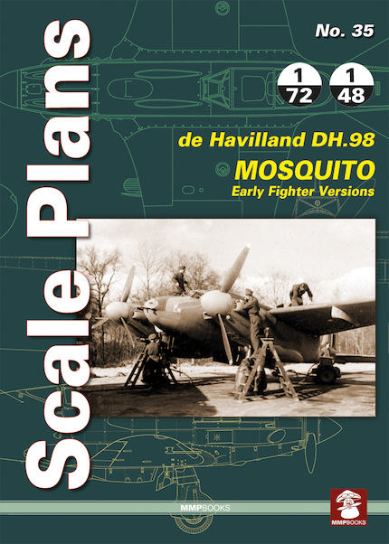 Scale Plans: De DH.98 Havilland Mosquito. Early Fighter Versions  9788365281272