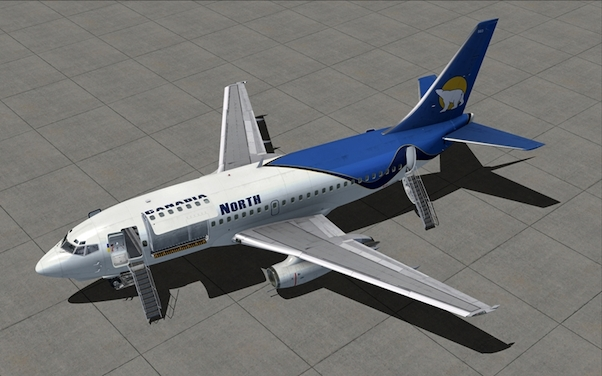 737-200 Combi (Download Version) (Military Visualization 148718-D)