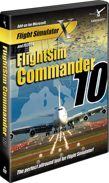 FlightSim Commander 10 (Download version) (Aerosoft AS11858)
