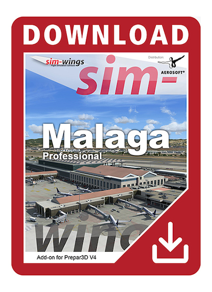Sim-wings - Malaga professional (download version)  AS14373