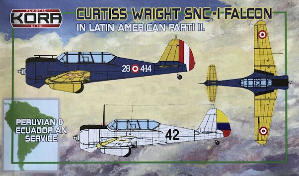 Curtiss Wright SNC-1 Falcon in Latin American service Part 2 (Peru & Ecuador)  KPK72091