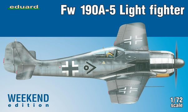 Focke Wulf FW190A-5 Light Fighter (2 Cannon) (Weekend edition)  7439