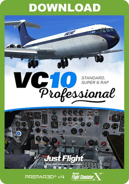 VC10 Professional - Standard, Super & RAF (download version) (Just Flight  J3F000260-D)