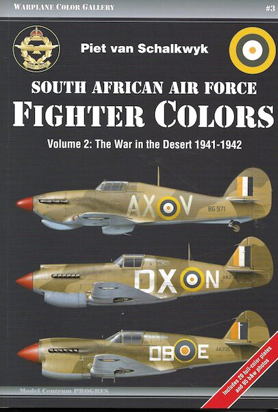 South African Air Force Fighter Colours Vol: 2: The War in the Desert 1941-1942  9788360672334