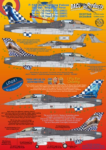 F16B MLU Fighting Falcon (OCU Belgian AF Anniversaries)  D7268