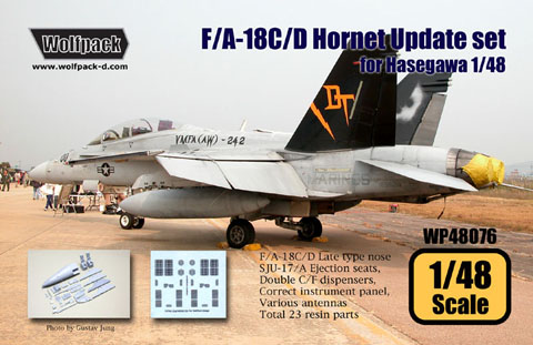 F/A-18C/D Hornet Late type Update set for Hasegawa 1/48  WP48076