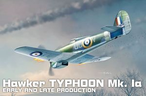 Typhoon Mk.Ia Car doors Early and late Production  BRP72012