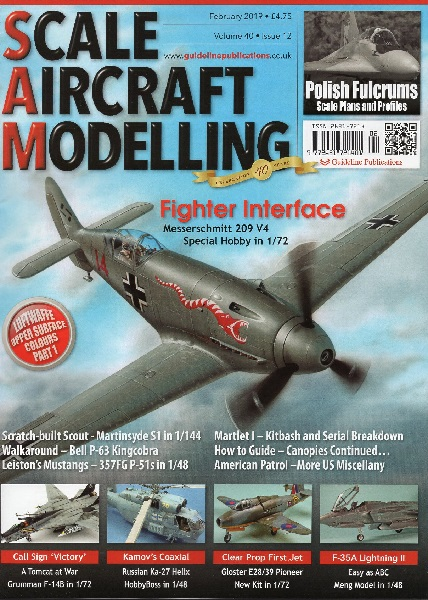 Scale Aircraft Modelling Vol.40 Issue 12 February 2019  977263172140102