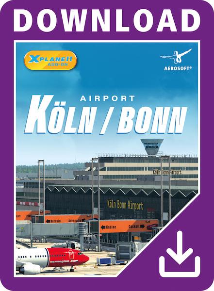Airport Cologne/Bonn XP (Download Version) (Aerosoft AS14501-D)