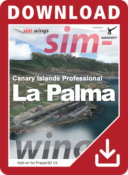 Sim-wings - Canary Islands professional - La Palma (download version)  14164-D