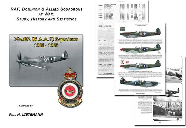 No 452 Sqdn RAAF 1941-1945