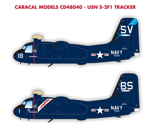 S2F-1 Tracker (US Navy)  CD48040