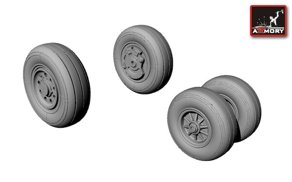 F35C Lightning II Wheel set (Kitty Hawk)  AR AW48304
