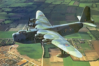 Short Shetland  British largest aircraft in WWII (Incl Miles, Martin Baker MB5, Twin Hotspur)  AA-4089