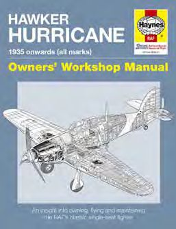 Hawker Hurricane Manual: 1935 onwards (all marks)  9781785211645