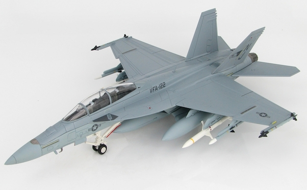 F/A-18F Super Hornet (US Navy, 166673/ NJ, VFA-122, RAF Fairford, 2006)  (Hobbymaster HA5110)