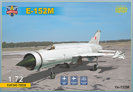 Ye-152M Soviet heavy interceptor prototype (Heavy MiG's Family)  72030