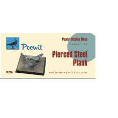 Paper display base 7,3x7,3 cm (Pierced Steel plates (PSP)  M142007
