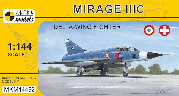 Mirage IIIC 'Delta-wing Fighter' (French & Swiss AF)  MKM14492