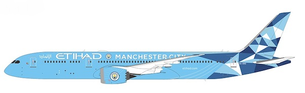 Boeing 787-9 Dreamliner Etihad Airways A6-BND Manchester City  55047