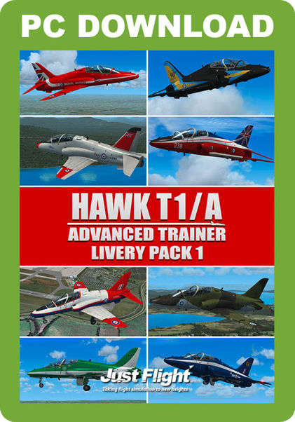 Hawk T1/A Advanced trainer/ Livery Pack 1 (download version)  HAWKLP1