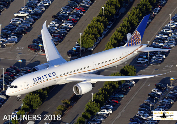 Airliners 2018 Wallcalendar  9783981899900