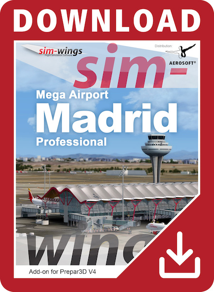 Mega Airport Madrid professional  AS14484-D